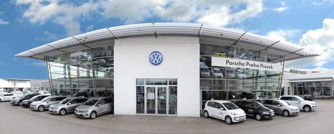 Porsche Praha - Prosek